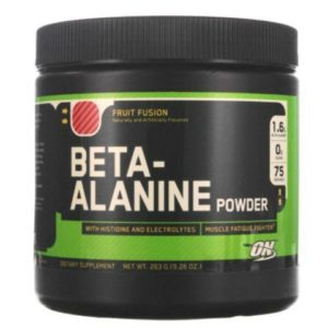 ON BETA-ALANINE – FRUIT FUSION
