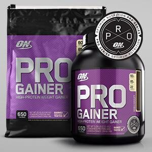 OPTIMUM NUTRITION ON PRO GAINER
