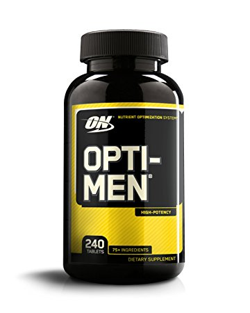 OPTIMUM NUTRITION-OPTI MEN-240-EA