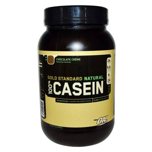 ON GOLD STANDARD NATURAL 100% CASEIN – CHOCOLATE CREME 2 LBS