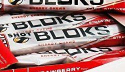 CLIF BAR SHOT BLOKS ELECTROLYTE CHEWS - STRAWBERRY